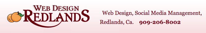 redlands web design logo